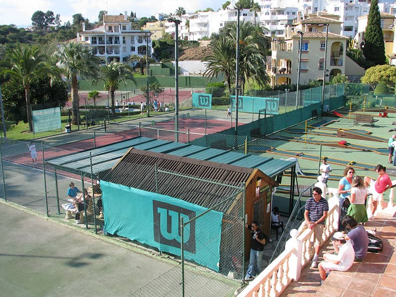 Aztec Country Club tennis sports complex