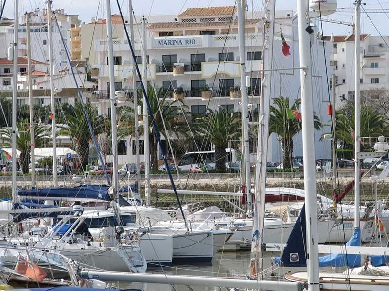 Marina Rio Hotel in Lagos on the Algarve