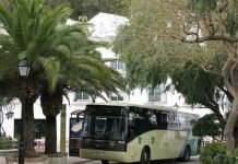 Bus to Mijas Pueblo