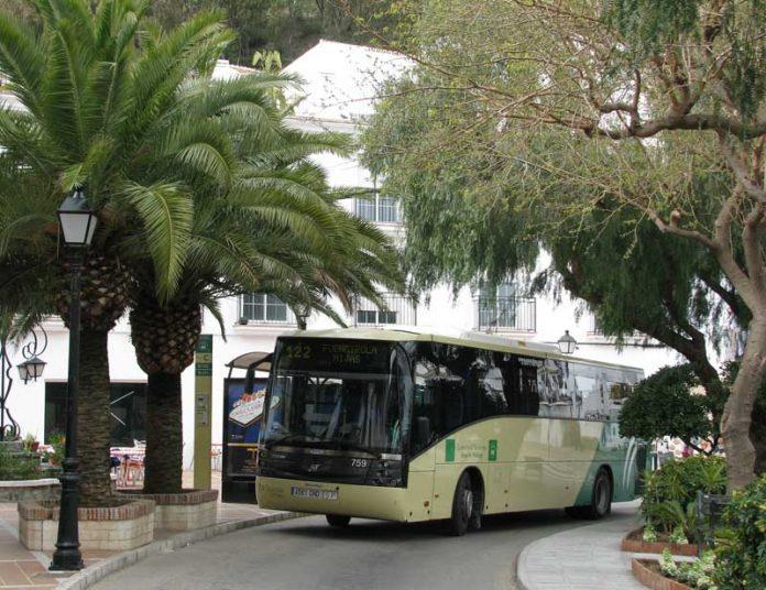 Picture of Bus to Mijas Pueblo