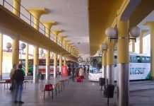 Prado de San Sebastian Bus Station in Sevilla