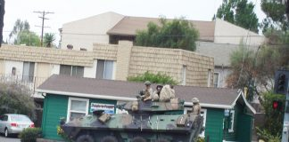 Armoured Personnel Carrier in Marbella (Really Fallbrook)