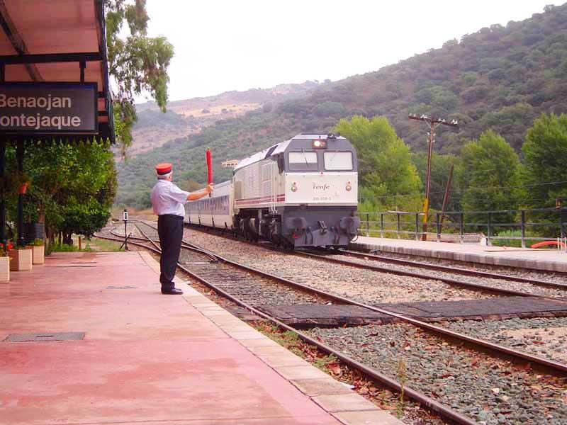 Train from Ronda to Algeciras