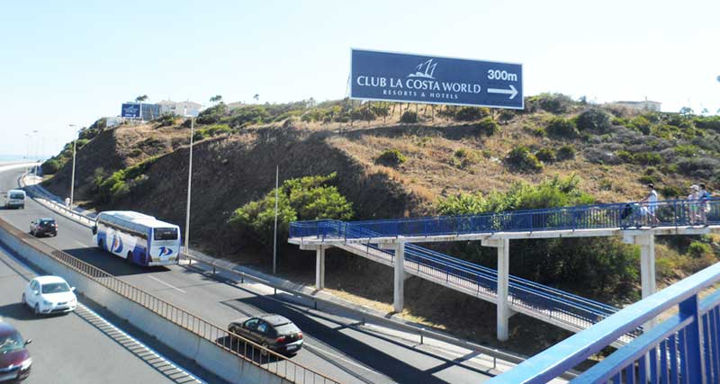 Club La Costa Walkway