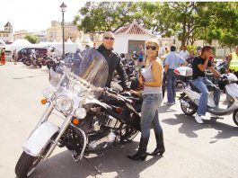 Harley Owners Group in Fuengirola on the Costa del Sol