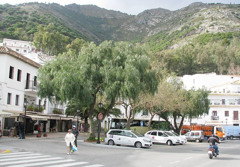 Mijas Pueblo Bus Stop