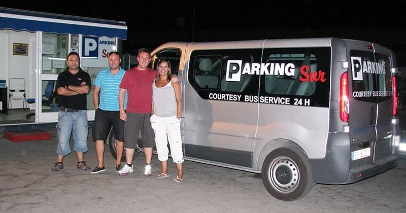 Parking Sur for Long Term Parking at Malaga Airport