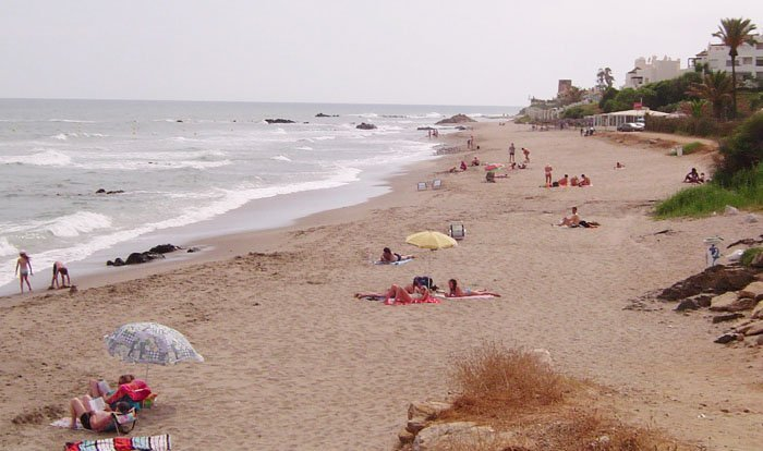 Riviera del Sol beaches just the other side of the highway. There is a pedestrian underpass