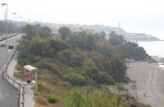 Los Amigos Playa Marina bus stop