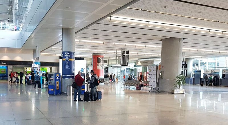 Malaga Airport Arrivals Hall