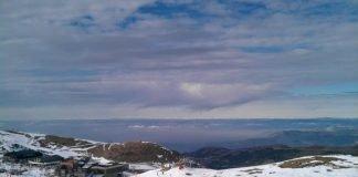 Sierra Nevada ski slopes