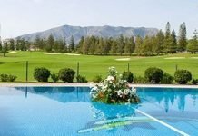 View of the golf course surrounding Hotel Tamisa Golf Mijas