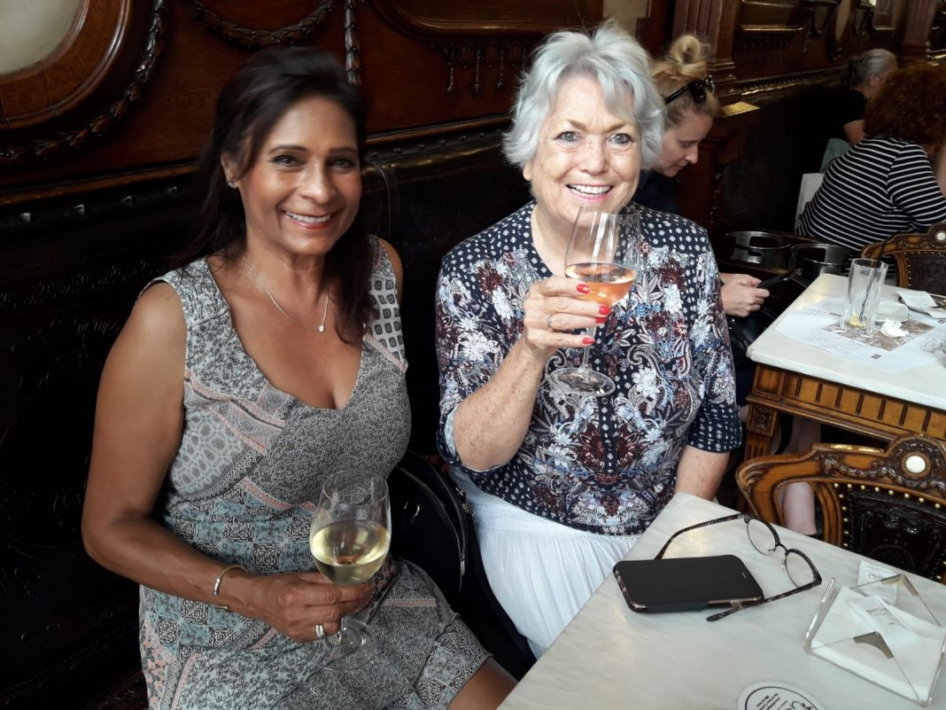 Marie Claire Patron and Angela Drury in Oporto