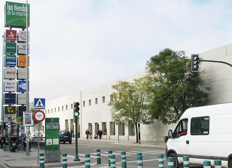 Cordoba Bus Station is right next to Cordoba Train Station