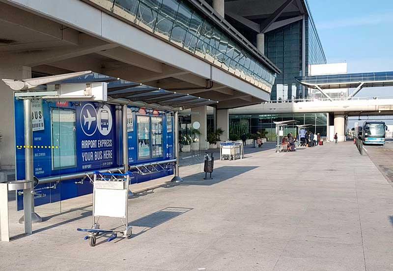 Malaga Airport Bus Stop